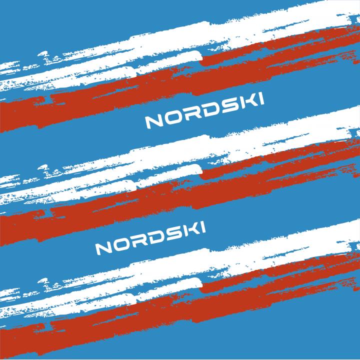 Баф NordSki STRIPE NSV409879 blue/red