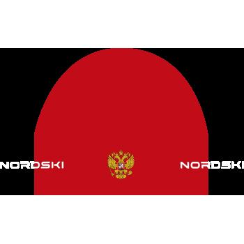 Шапка гоночная NordSki ACTIVE NSV114900 red