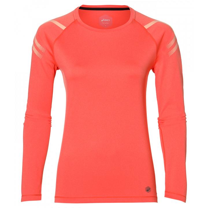 Рубашка Asics Icon LS Top 154544 6051 оранжевый