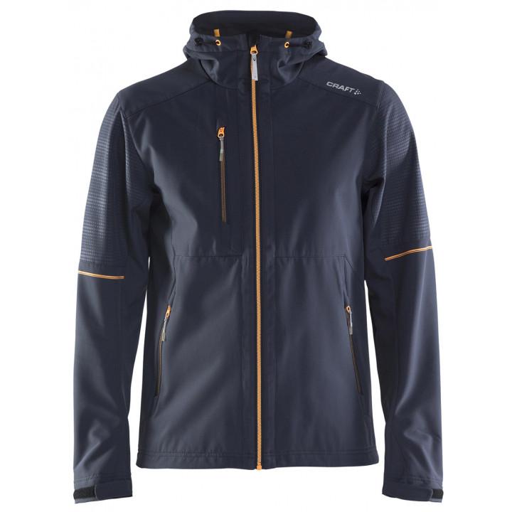 Куртка разминочная Craft Highland 1905072 947563 т.син/оранж