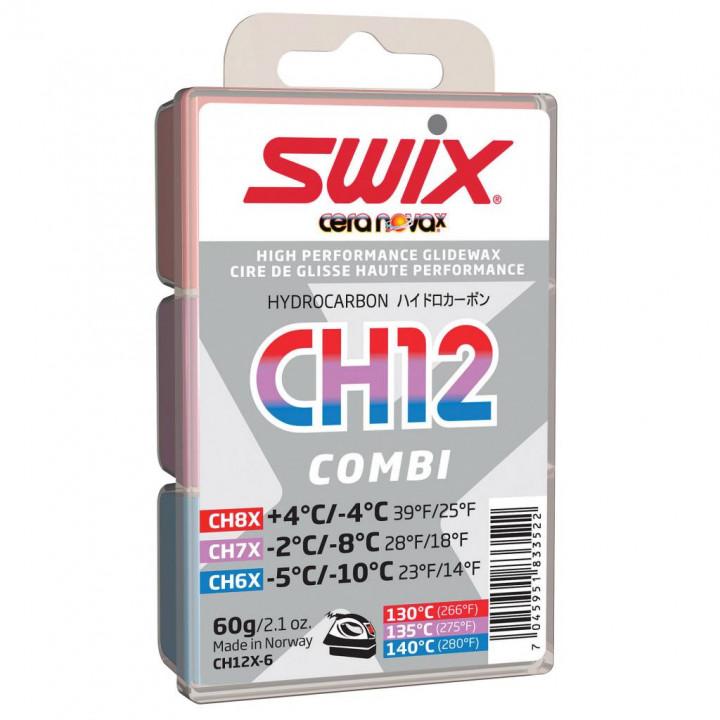Парафин Swix CH12X-6 /6X..7X..8X/ Combi 60 гр.