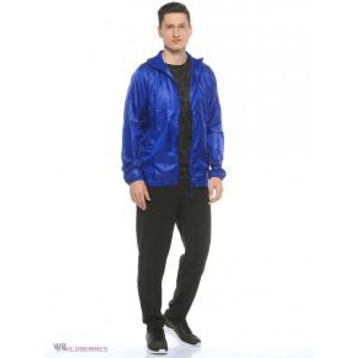 Куртка Asics Lightweight woven 130504 0194 синий принт