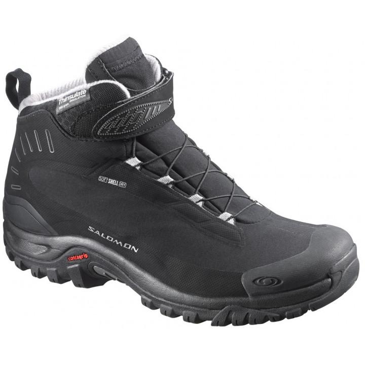 Ботинки зимние Salomon Deemax TS WP черный