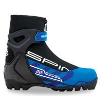 Ботинки лыжные NNN Spine Energy 2017 258M черный/синий