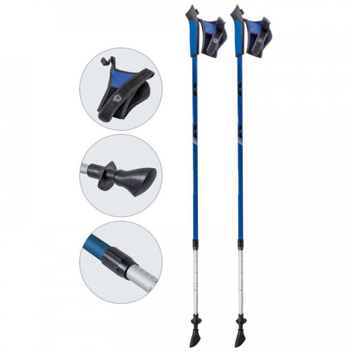 Палки для ск.ходьбы Ecos AQD-B 020 blue