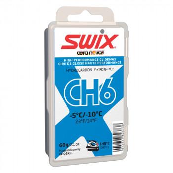 Парафин Swix CH6X-6 /-5...-10/ 60 гр. blue