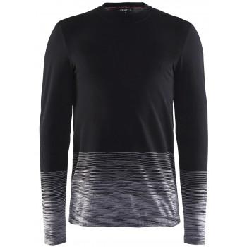 Терморубашка Craft Wool Comfort 2.0 1905344 999975 черн/бел