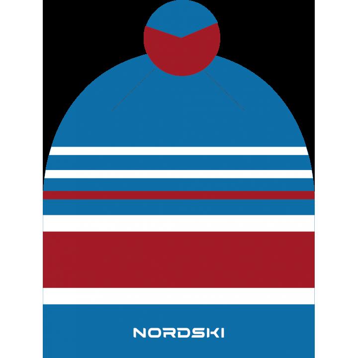 Шапка NordSki BRIGHT NSV473702 blue rus