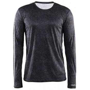 Рубашка Craft Mind Run 1903948 2095 черный принт