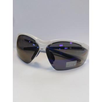 Очки Relax R5255C 2 линзы мягкий чехол белый/синий