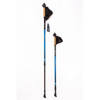 Палки для ск.ходьбы Finpole ALPINA 60 CARBON blue/black