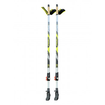 Палки для ск.ходьбы Finpole SPEED black/yellow