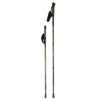 Палки для ск.ходьбы Vinsion PLUS CORK green/black
