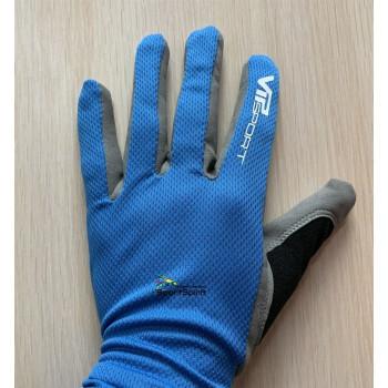 Перчатки лыжерол. Vipsport 1901 BLUE blue/gray