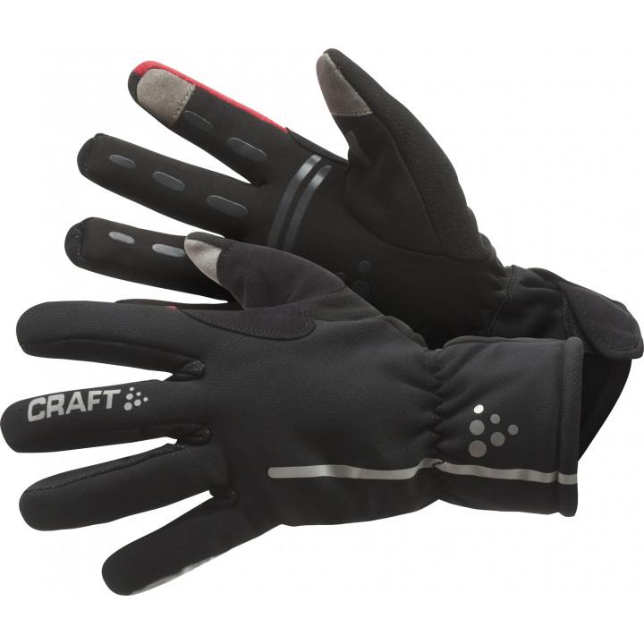Велоперчатки Craft BIKE SIBERIAN GLOVE 1901623 9430 black/red
