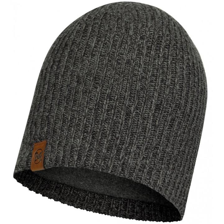 Шапка Buff KNITTED AND FLEECE HAT LYNE 116032.937.10.00 grey