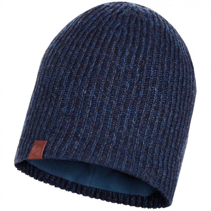 Шапка Buff KNITTED AND POLAR HAT LYNE 116032.779.10.00 night blue