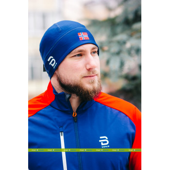 Шапка гоночная Bjorn Daehlie POLYKNIT FLAG 331003 25300 estate blue
