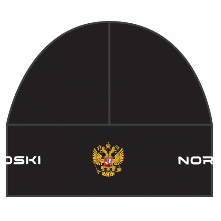 Шапка гоночная NordSki ACTIVE RUS NSV114100 black