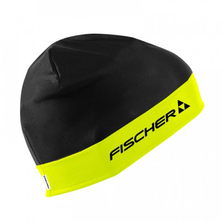 Шапка гоночная Fischer NORDIC GR8095-101 black/lime