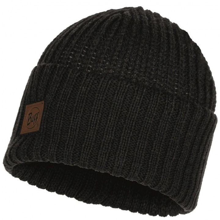 Шапка Buff KNITTED HAT RUTGER 117845.901.1000 graphite