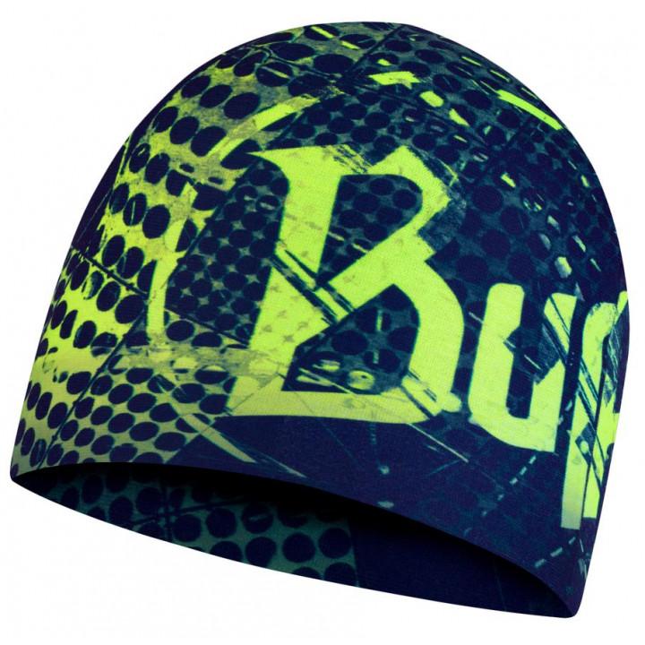 Шапка Buff MICROFIBER REVERSIBLE HAT 123876.707.10.00 havoc blue