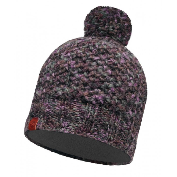 Шапка Buff KNITTED AND POLAR HAT 113513.622.10.00 margo plum