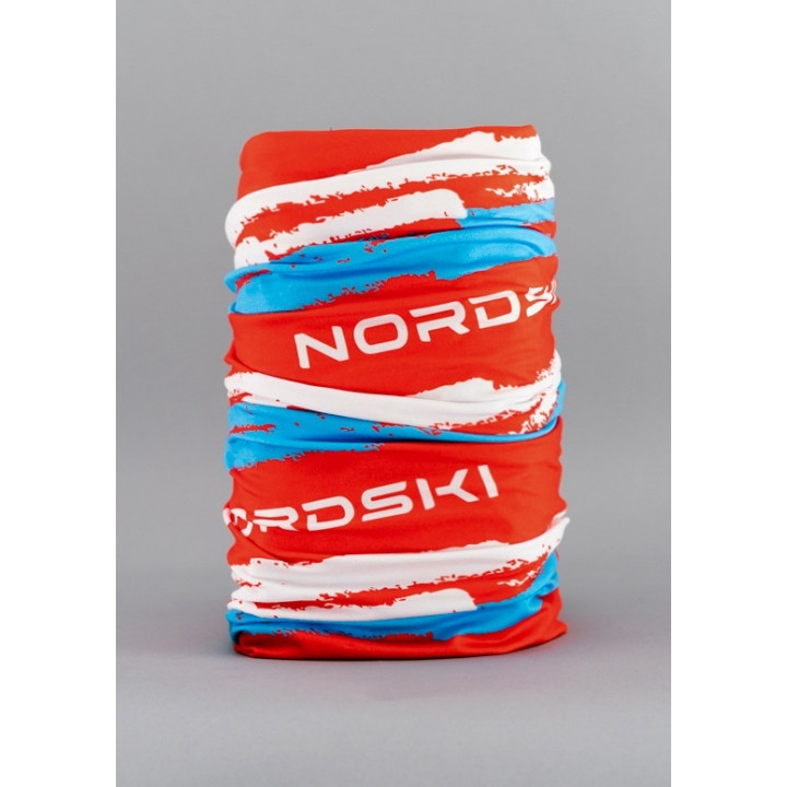 Баф NordSki STRIPE NSV409987 red/blue