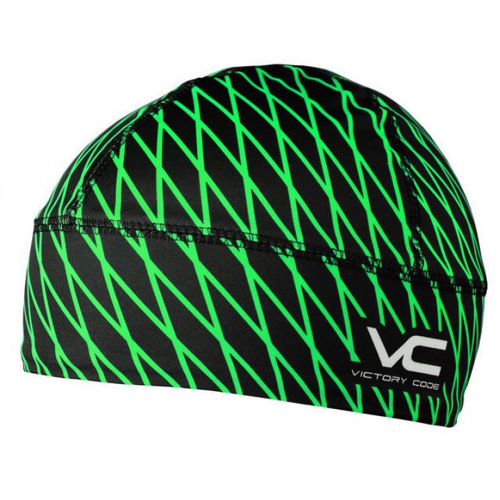 Шапка гоночная Victory Code QUANTUM SH black/green