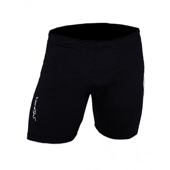 Шорты фитнес NordSki Premium черный/желтый