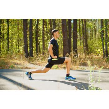 Шорты фитнес NordSki Premium черный/зеленый