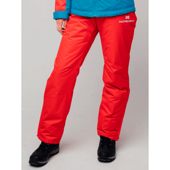 Брюки утепленные NordSki PREMIUM W NSW213900 red