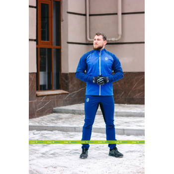 Брюки разминочные Bjorn Daehlie POWER FOR MEN 332957 25300 estate blue