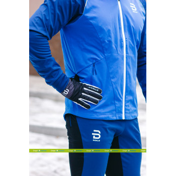 Куртка разминочная Bjorn Daehlie RIDGE FOR MEN 333270 25300 estate blue